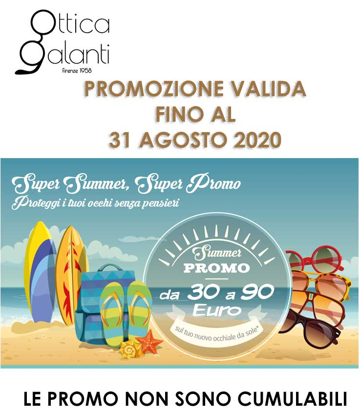 promo estate - video - lenti multifocali